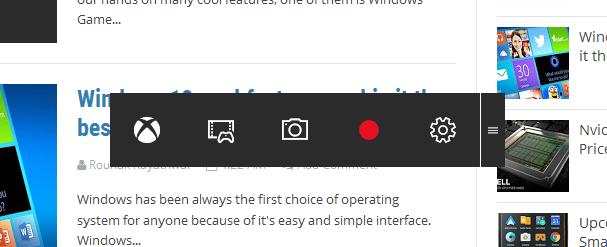 Windows 10 Game DVR Recording Software Explained