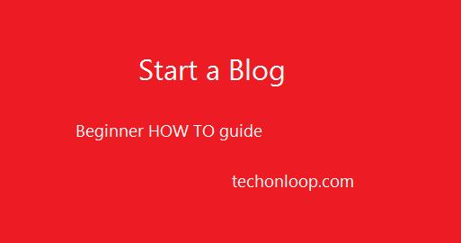 How to start a blog and write your first post