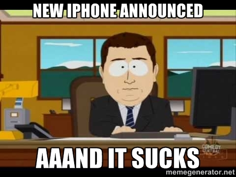 iphone sucks