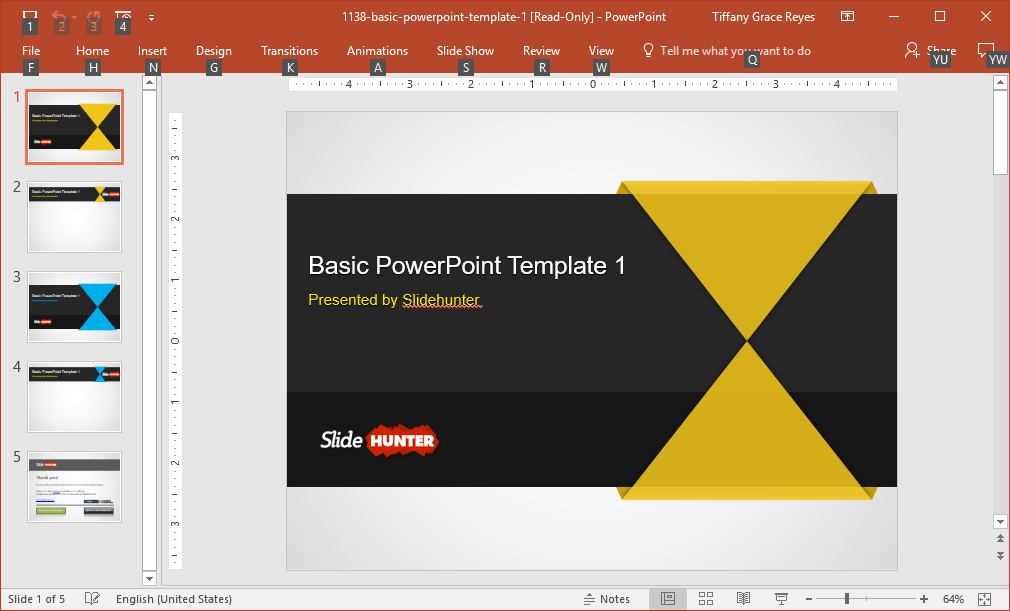 0007-basic-powerpoint-template
