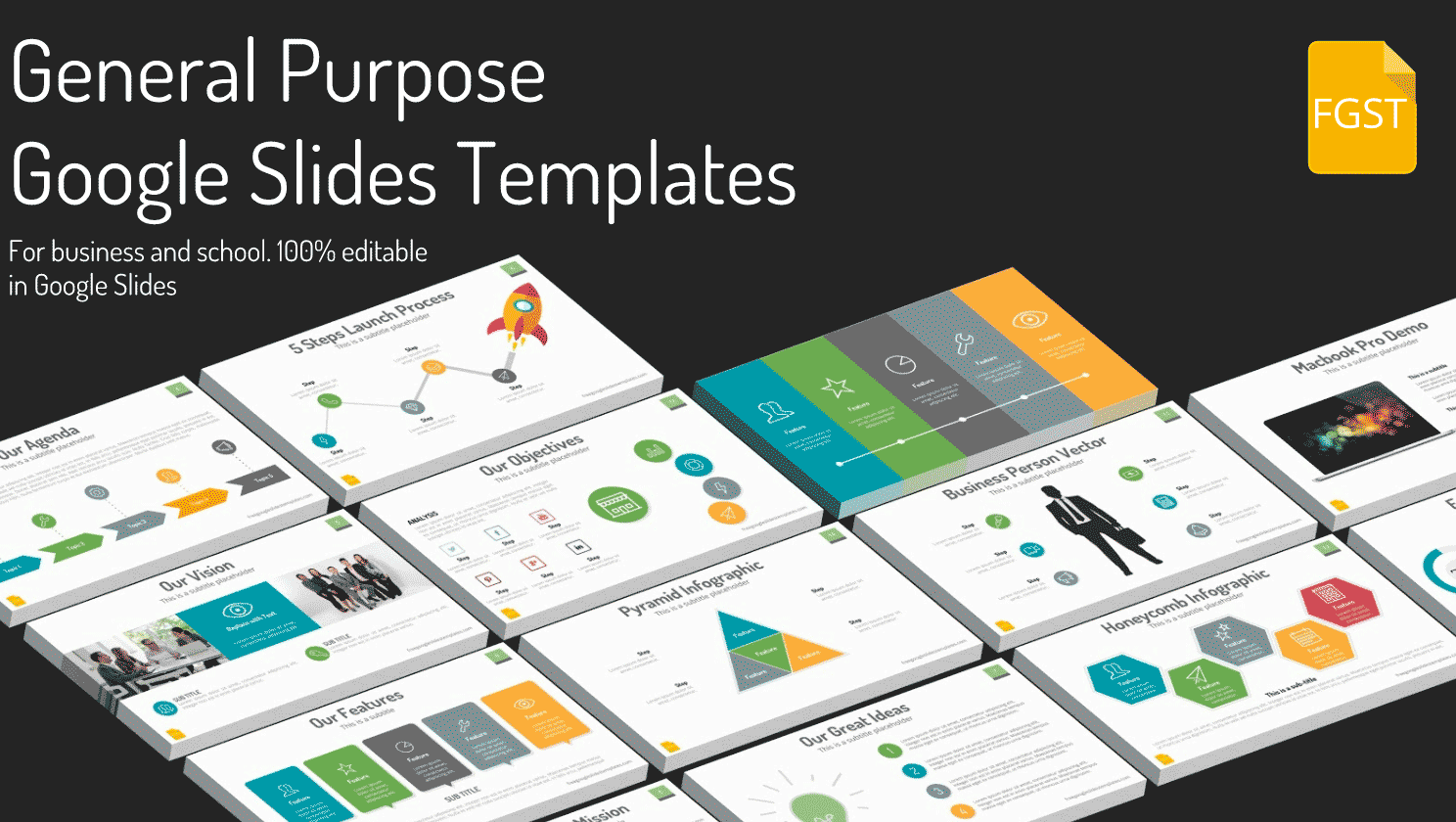 Awesome Collection of Google Slides Themes FREE