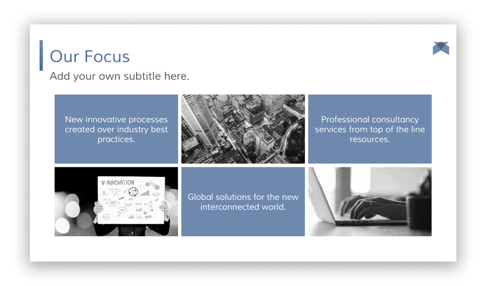 our-focus-presentation-templates