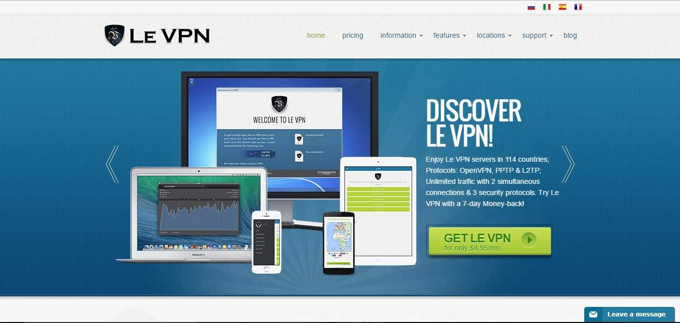 VPN Reviews : Le VPN, Fast and Secure