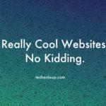 cool websites