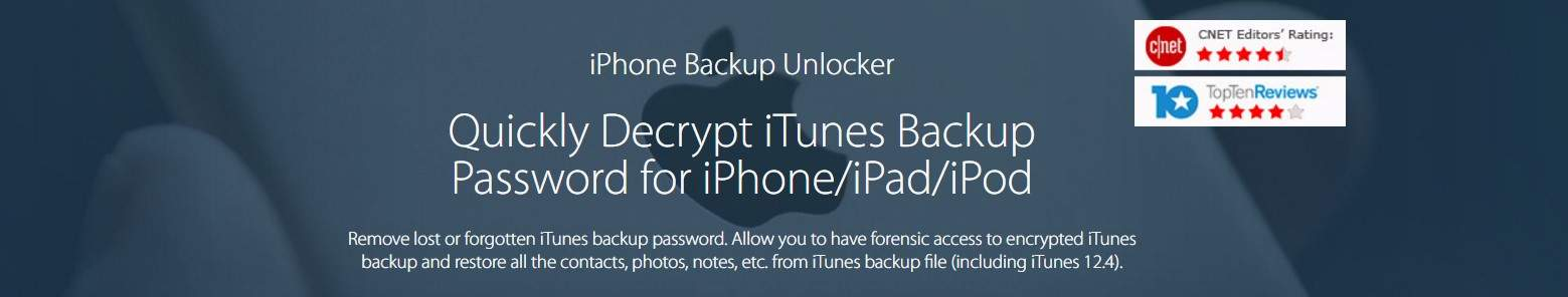 Tenorshare iPhone Backup Unlocker Review