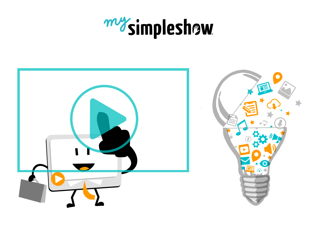 Create Explainer Video Online using MySimpleShow