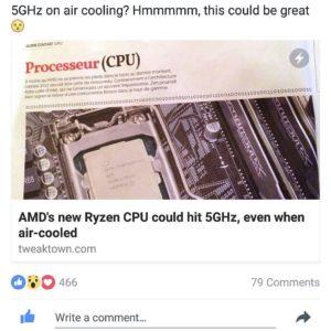 AMD Ryzen hype