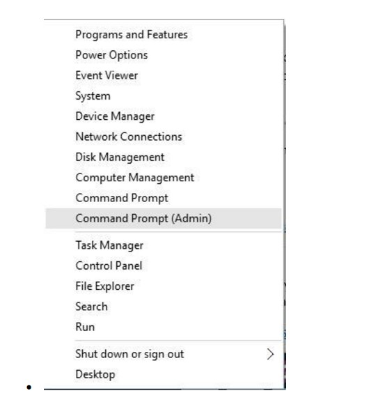 windows sockets registry entries missing