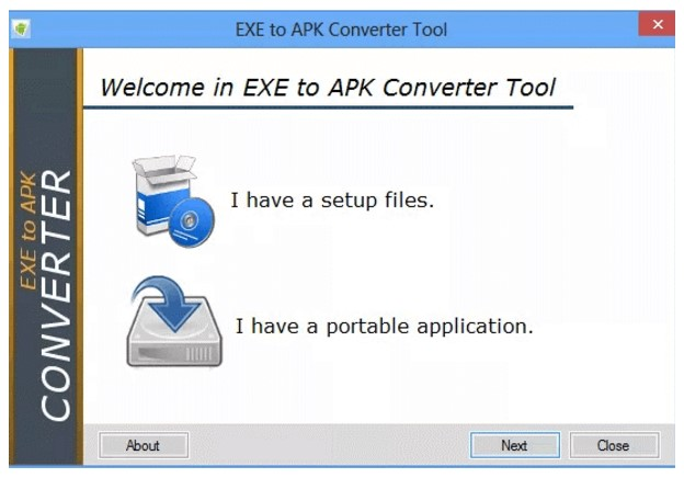 exe to apk converter online