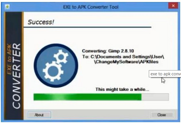 exe to apk file converter