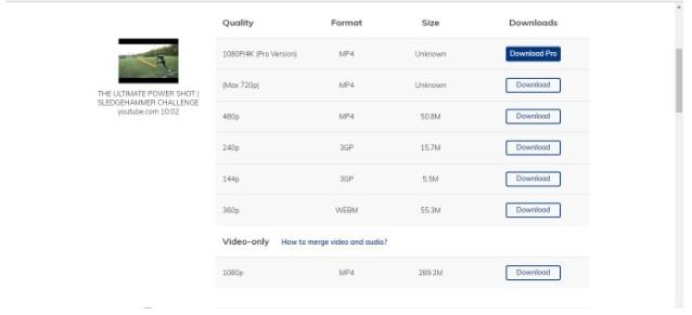 online video download tool