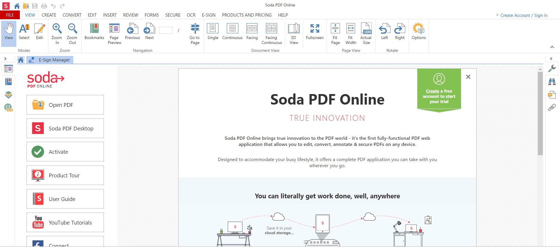 How to convert a PDF Online for Free