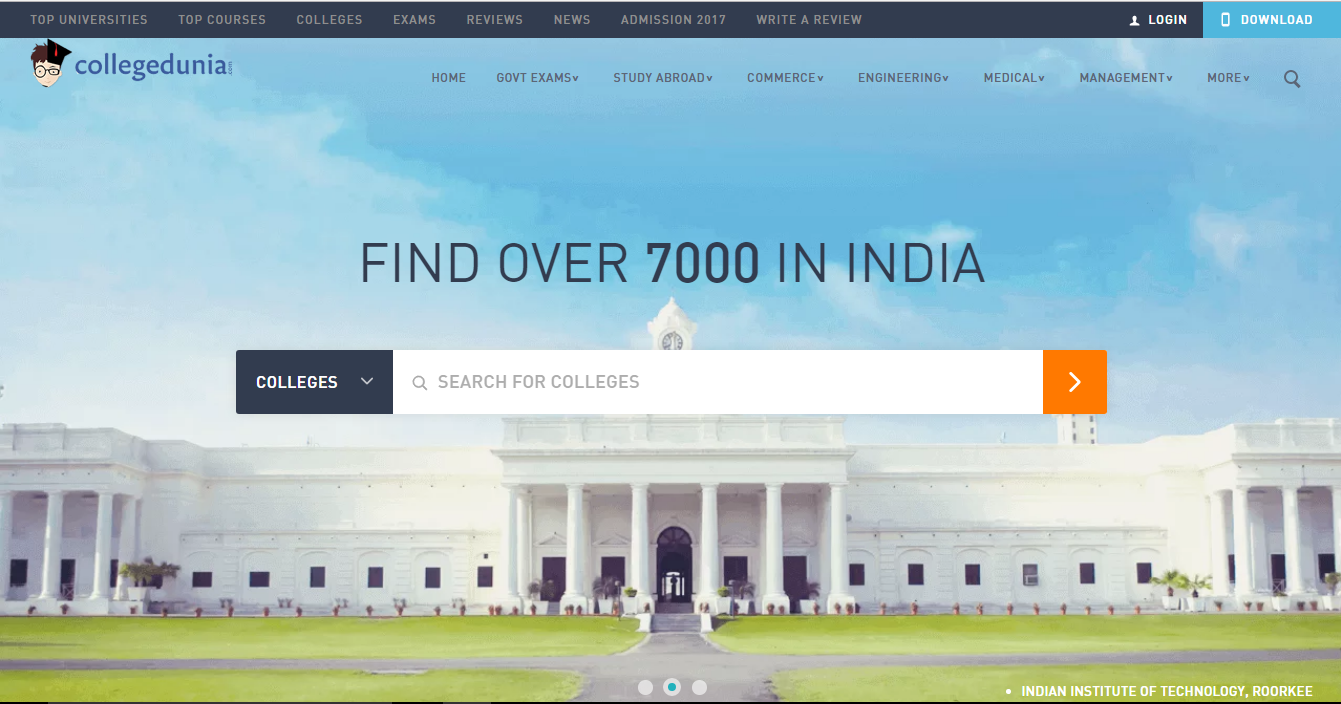 College Dunia Review: Find your Dream College today!