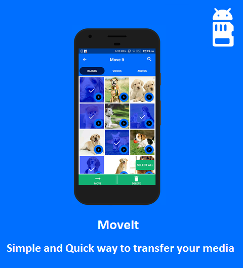 MoveIt Android App Review: Transfer Files Easily