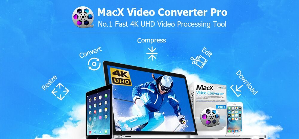 MacX Video Converter Pro is the Best 4K Video Processing Tool for Video Fans