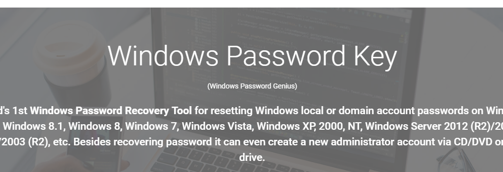 Windows Password Key Review: Best Password Recovery Tool