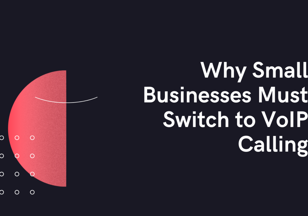 Why Small Businesses Must Switch to VoIP Calling
